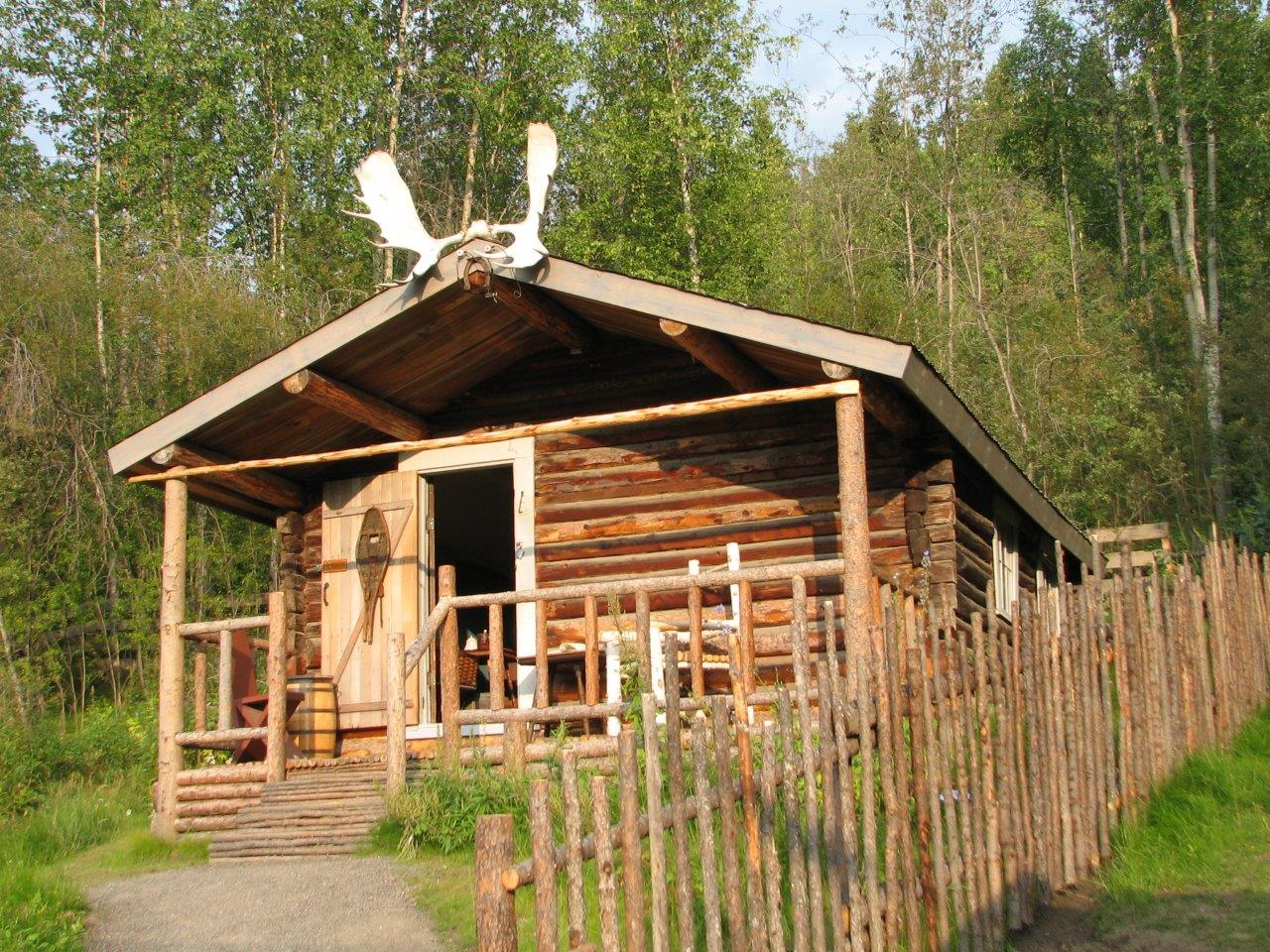 Dawson City Cabin