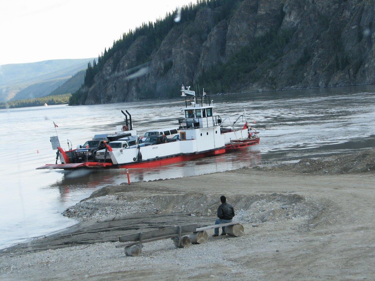 Dawson City Boat