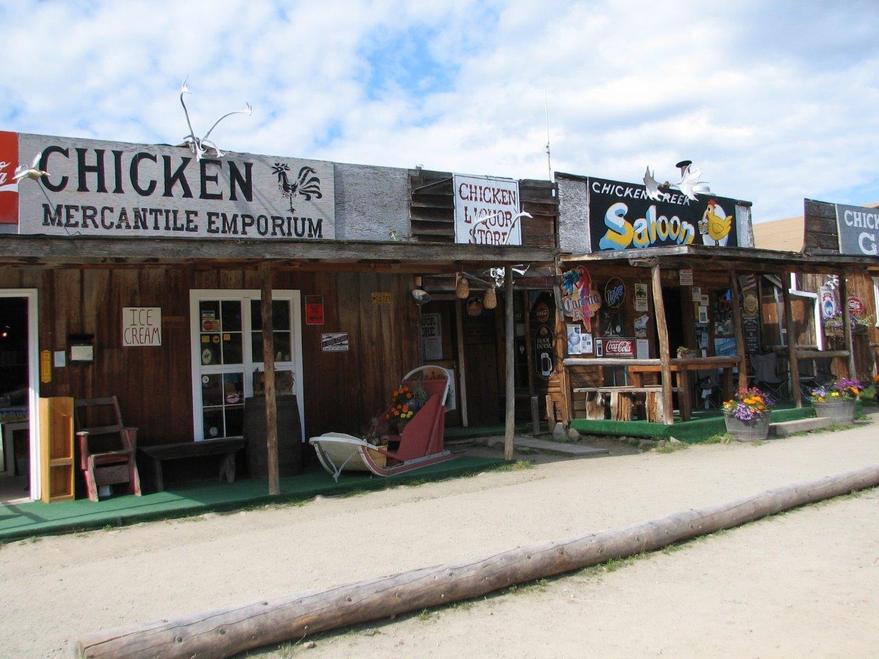 Dawson City Storefronts