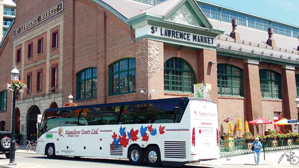 St Lawrence Market Bus Shot
