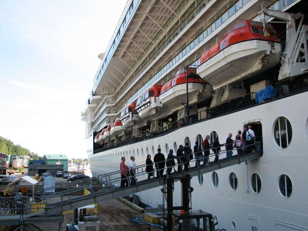 Alaska Cruise - Boarding