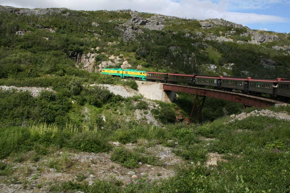 Alaska - Skagway Train