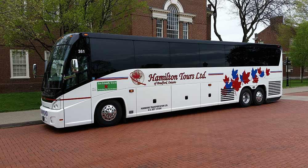 Hamilton tour bus photo