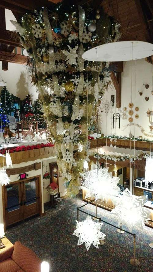 Frankenmuth upside down christmas tree