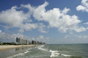Myrtle Beach, South Carolina Oceanfront Holiday and the Outer Banks of North Carolina